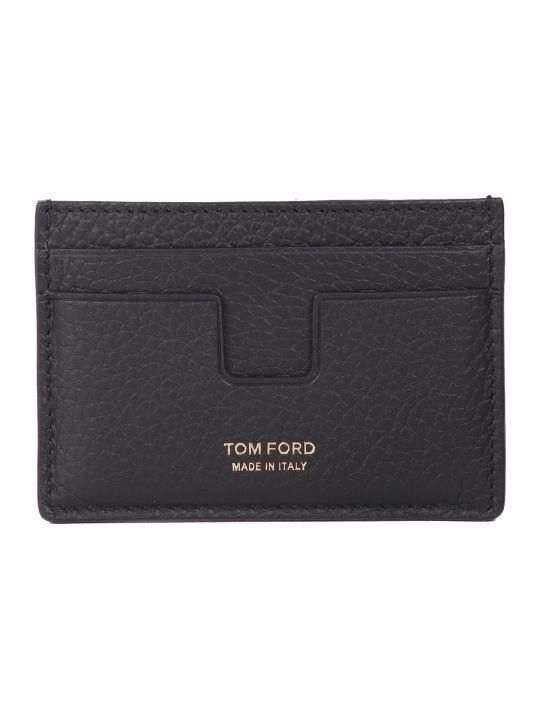 Tom Ford Black Card Holder