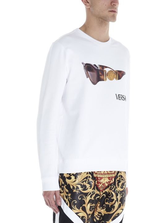 Versace 'biggie Sunglasses' Sweatshirt