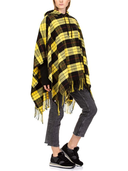 Cheap Monday City Poncho Check