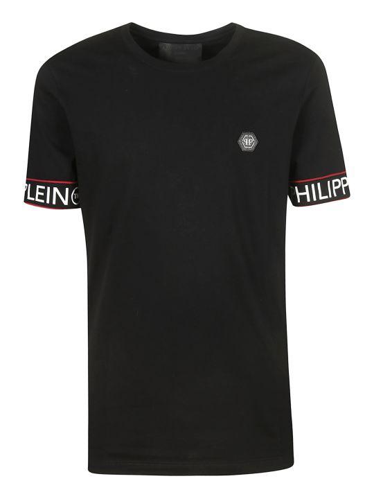 Philipp Plein Logo Patch T-shirt