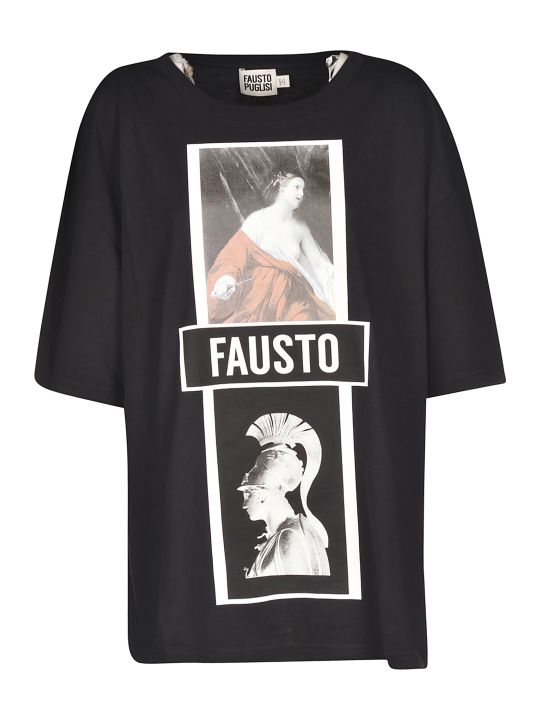 Fausto Puglisi Photo Print T-shirt