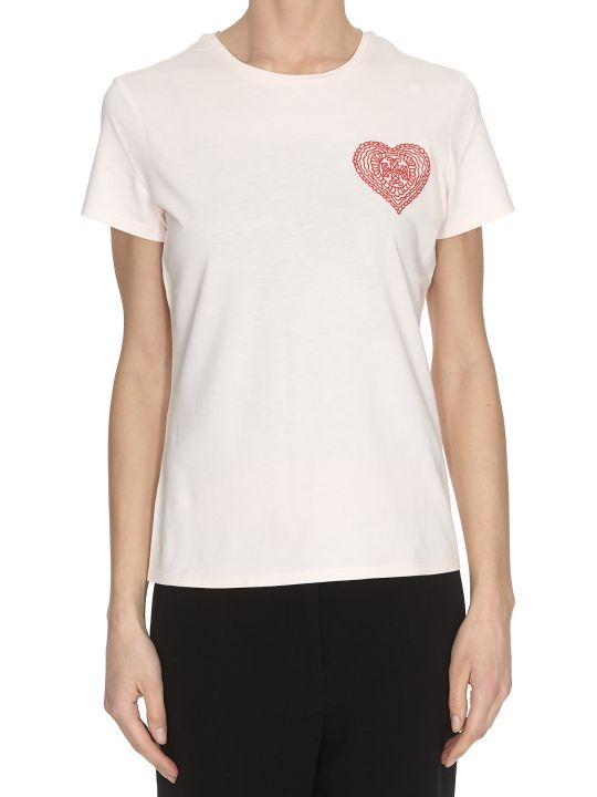 Tory Burch Embroidered Heart T-shirt