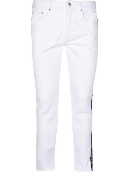 Givenchy Logo Tape Skinny Jeans