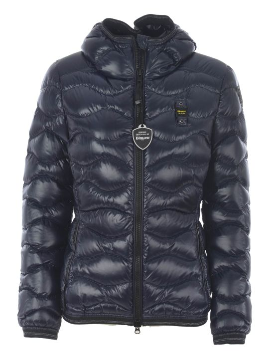 Blauer Zip-up Padded Jacket
