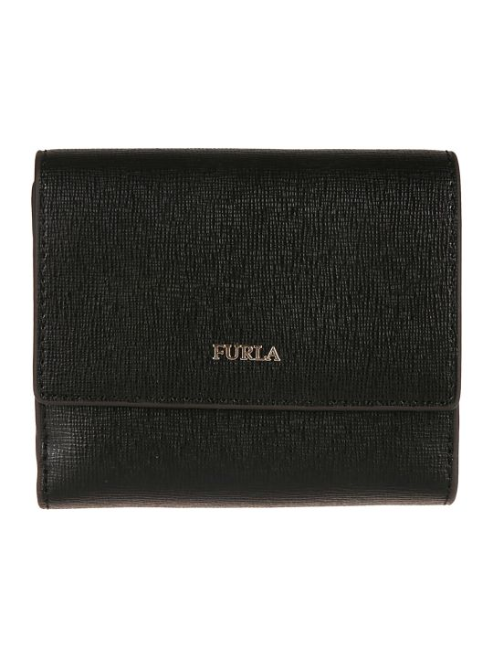 Furla Logo Plaque French Wallet