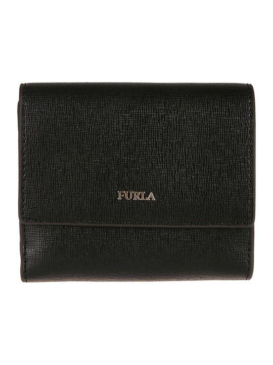 Furla Logo Plaque French Wallet