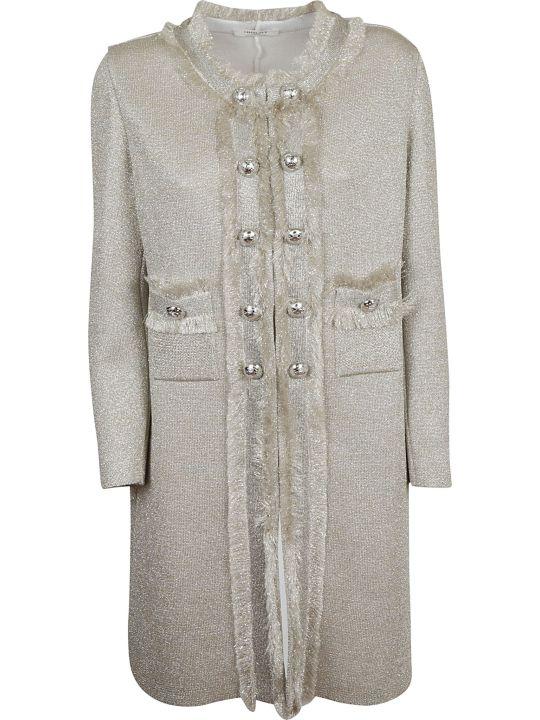 Charlott Embellished Button Coat