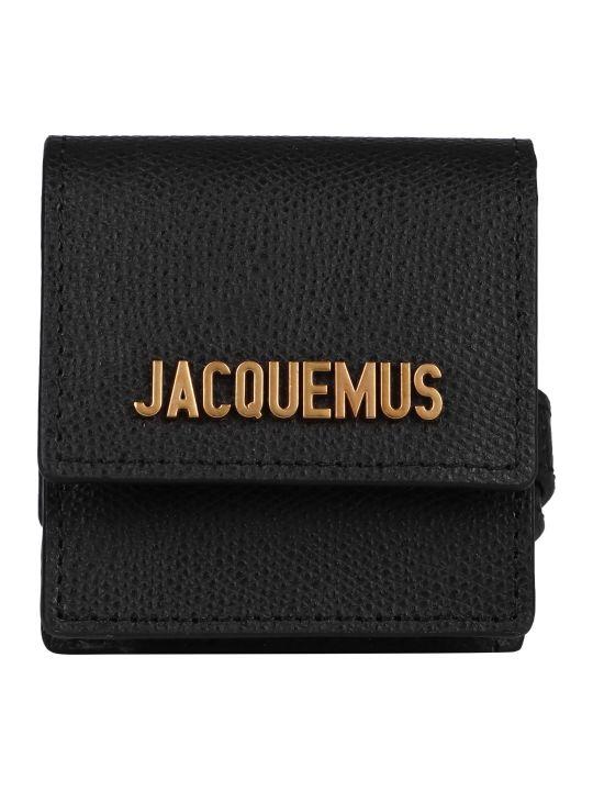 Jacquemus Logo Charm Leather Bracelet