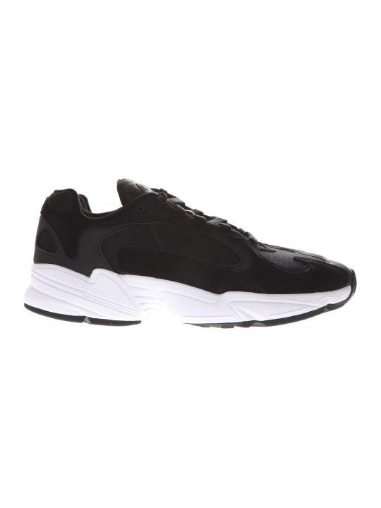 Adidas Originals Yung Core Black Nabuck Sneakers
