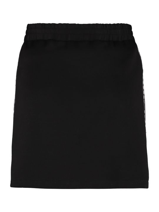 Miu Miu Logoed Side Bands Mini Skirt