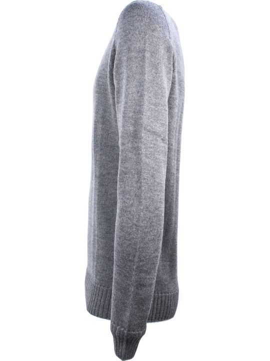 Drumohr Grey Merino Wool Sweater