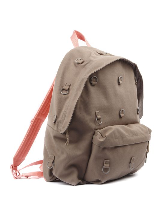 Eastpak Canvas Backpack With Eyelet Detail