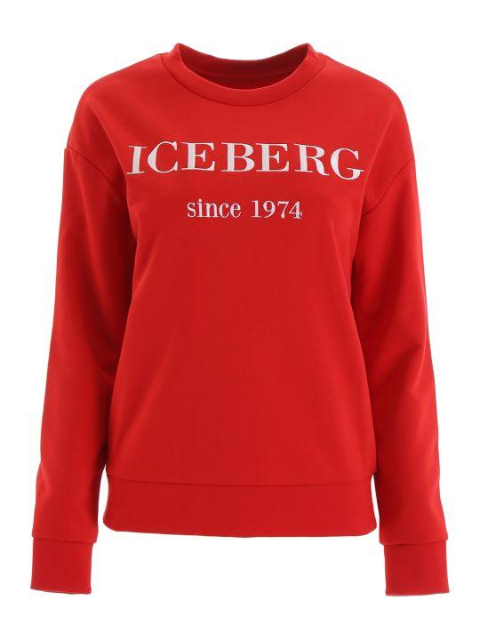 Iceberg Sweatshirt With Embroidered Logo