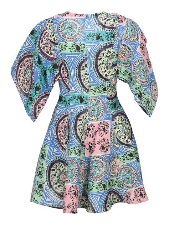 J.W. Anderson Jw Anderson Venetian Print Mini Dress