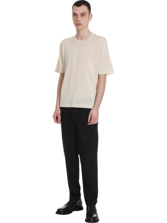 Ami Alexandre Mattiussi Pants In Black Wool