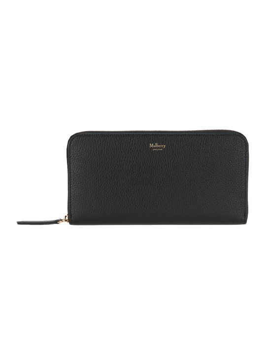 Mulberry 12 Card Zip Around Wallet