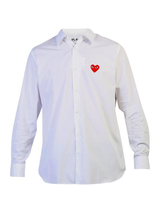 Comme des Garçons Play Cotton Poplin Shirt