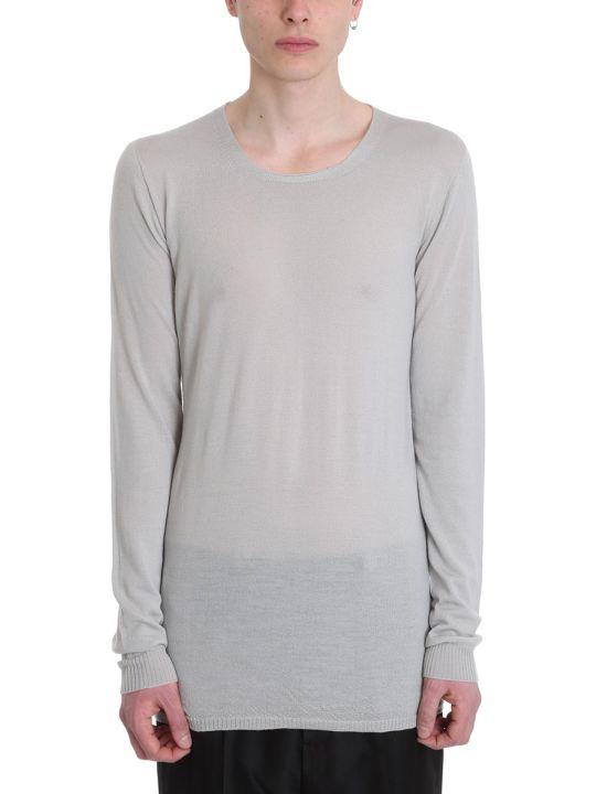 Rick Owens Beige Wool Sweater