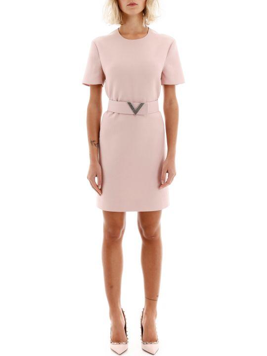Valentino V Pave Mini Dress