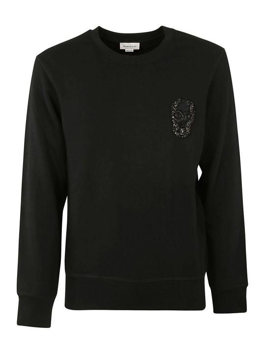 Alexander McQueen Embellished Skull Sweatshirt
