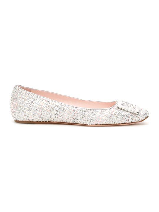 Roger Vivier Trompette Ballet Flat With Piping 05