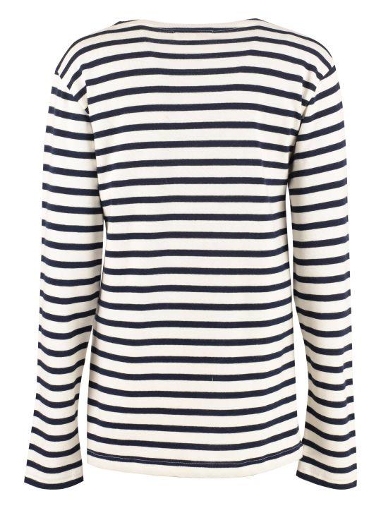 Maison Labiche Striped Cotton Sweater