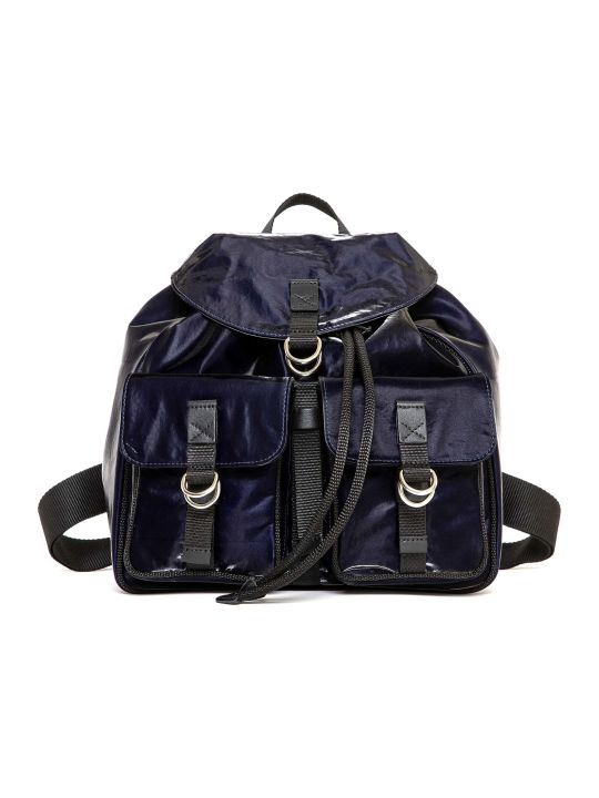 Mr & Mrs Italy Cotton Velvet Tech Travel Backpack
