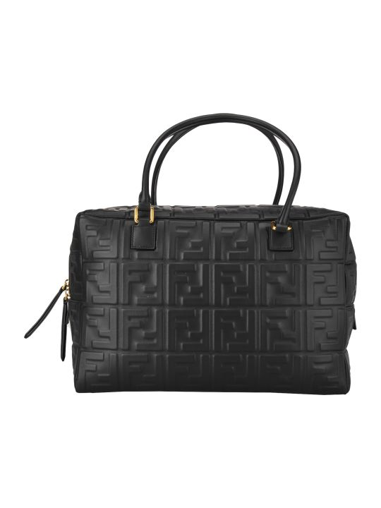 Fendi Bauletto Ff Embossed