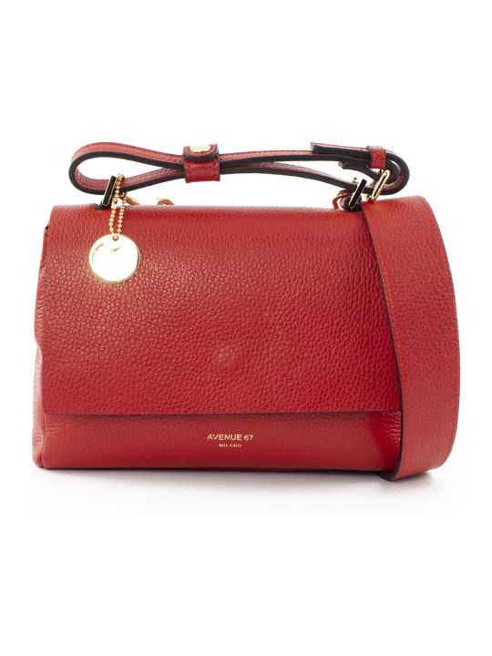 Avenue 67 Elettraxs Red Leather Bag