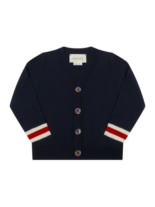 Gucci Blue Cardigan