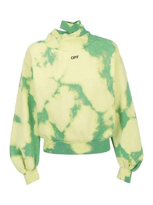 Off-White Tie Dye Sweatshrit