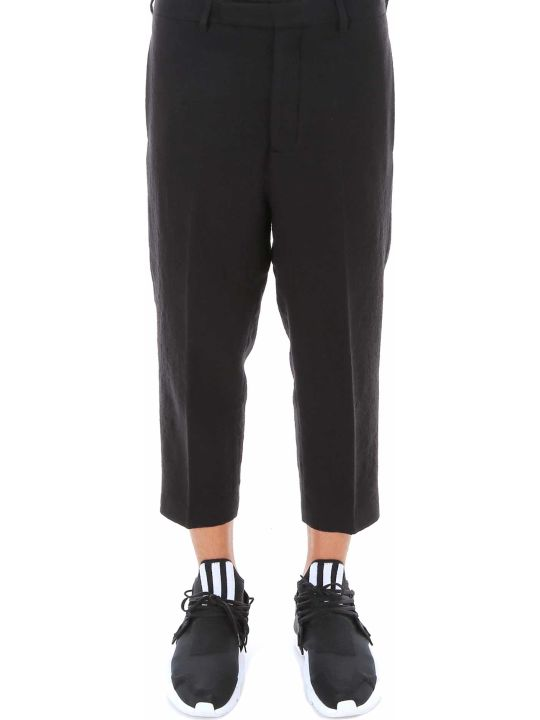 Rick Owens Slim Cropped Astaires Trousers