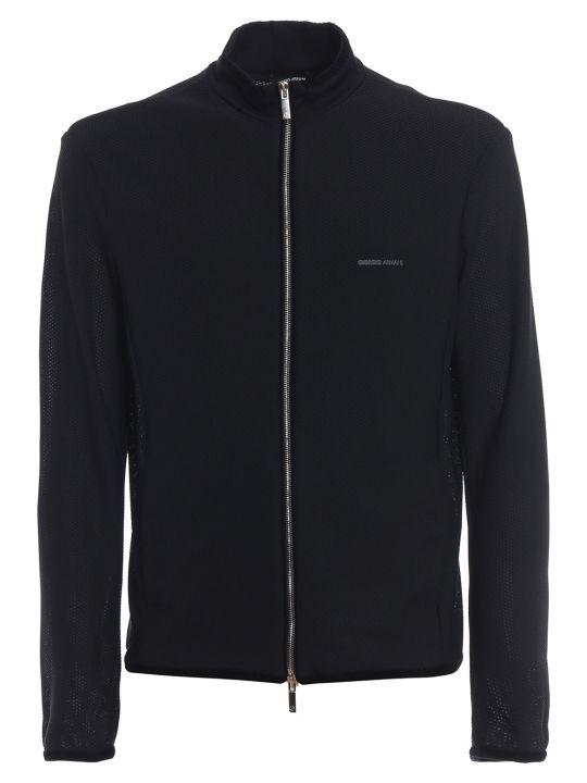 Giorgio Armani Chest Logo Jacket