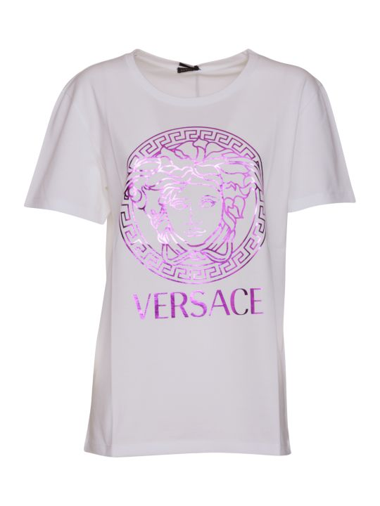 Versace Medusa And Logo T-shirt