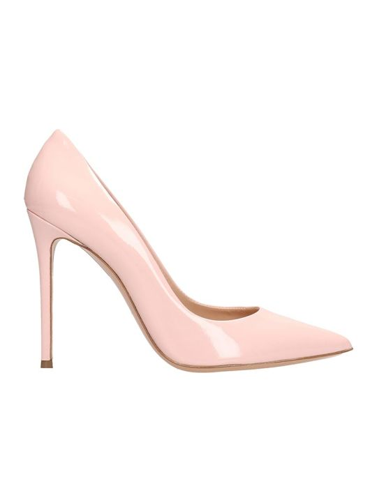 Lerre Pink Patent Leather Decollete