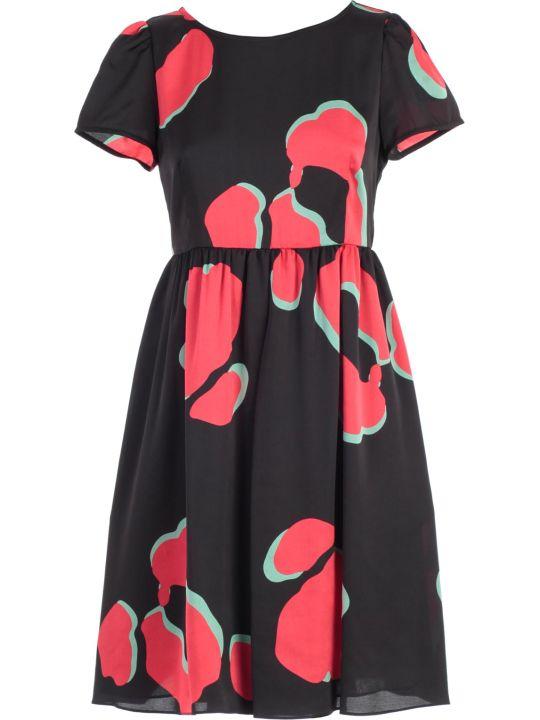 Emporio Armani Dress S/s Animalier Print