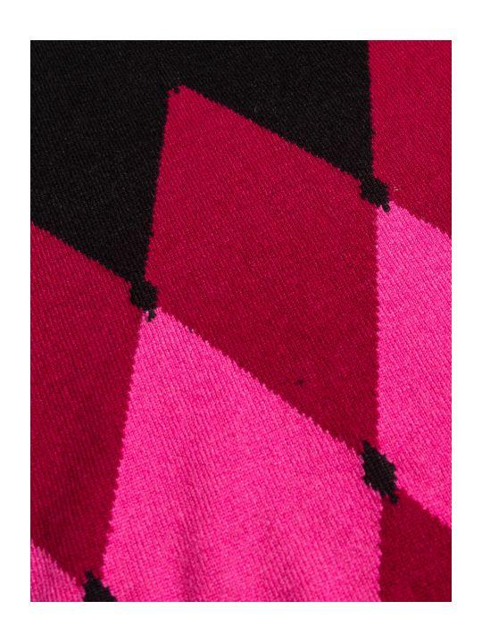 Ballantyne R Neck Pullover Intarsia