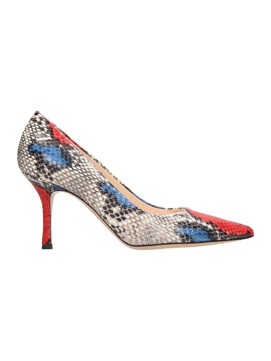 Marc Ellis Python Print Multicolor Pumps