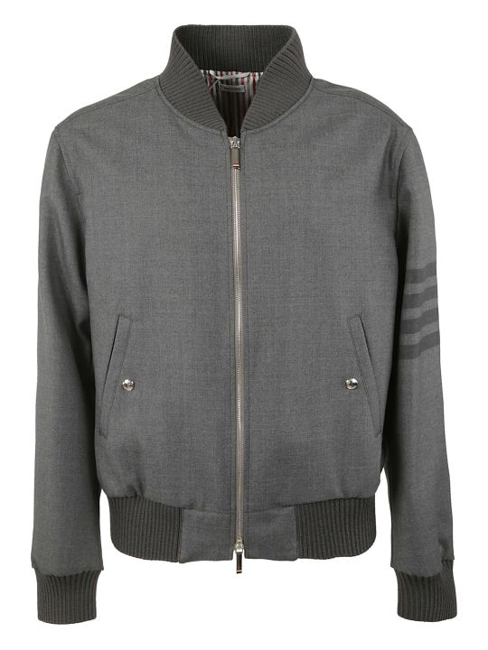 Thom Browne Two-way Zipped Bomber