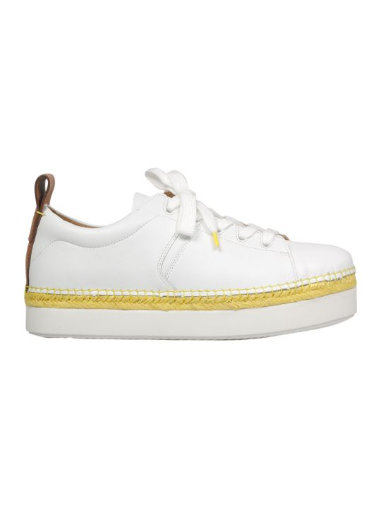 See by Chloé Braided Raffia Sneakers