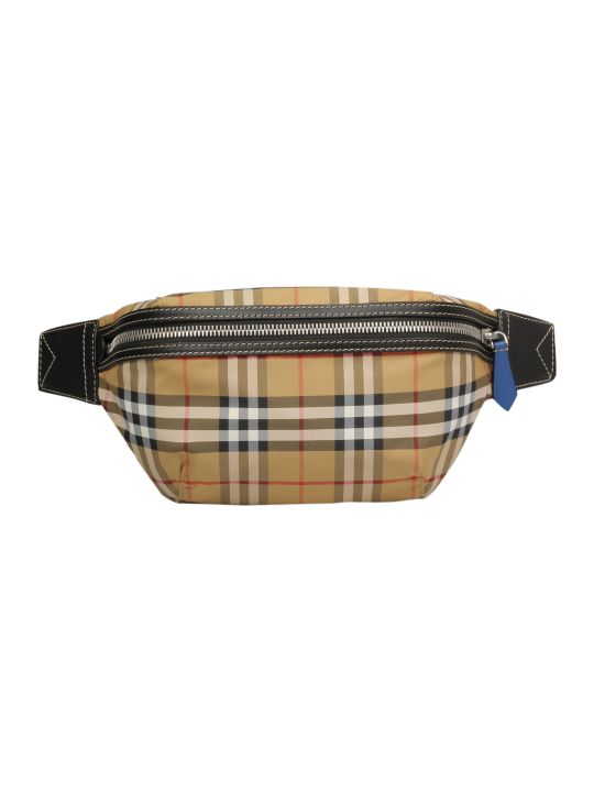 Burberry Checked Belt Bag