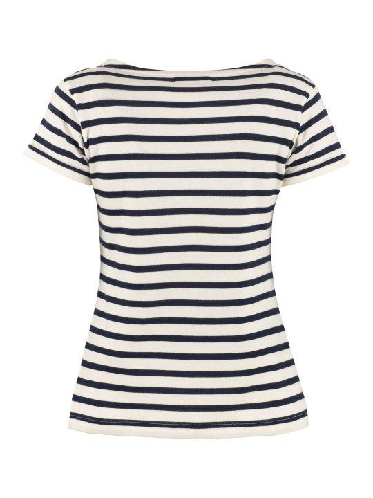 Maison Labiche Striped Knitted T-shirt