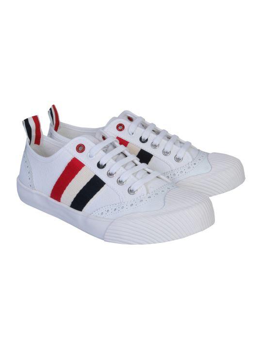 Thom Browne Low Top Brogued Trainer Sneaker