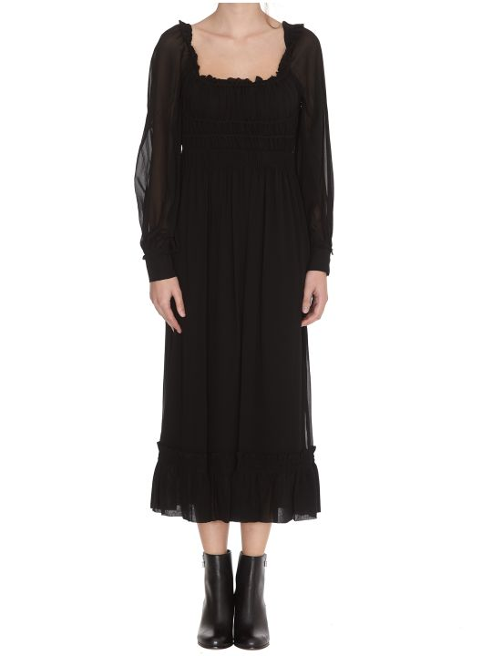 Proenza Schouler Square Neck Dress