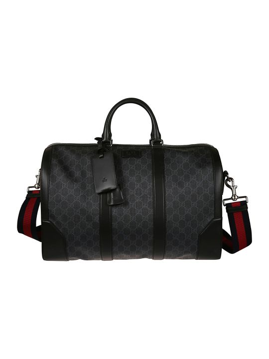 Gucci Logo Print Duffle Bag