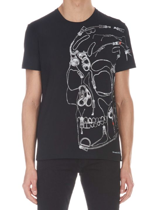 Alexander McQueen 'skull Profile' T-shirt