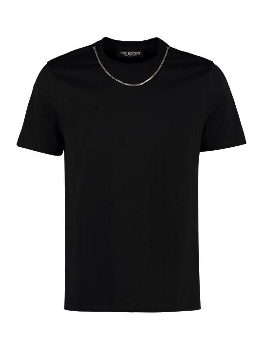 Neil Barrett Crew-neck Cotton T-shirt