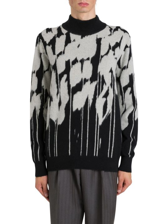 Dior Homme Black And White Jumper