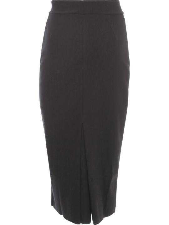 La Petit Robe Di Chiara Boni Pencil Skirt W/slit Behind