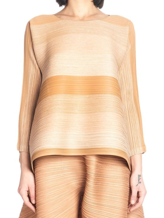 Pleats Please Issey Miyake 'log Bounce' Top